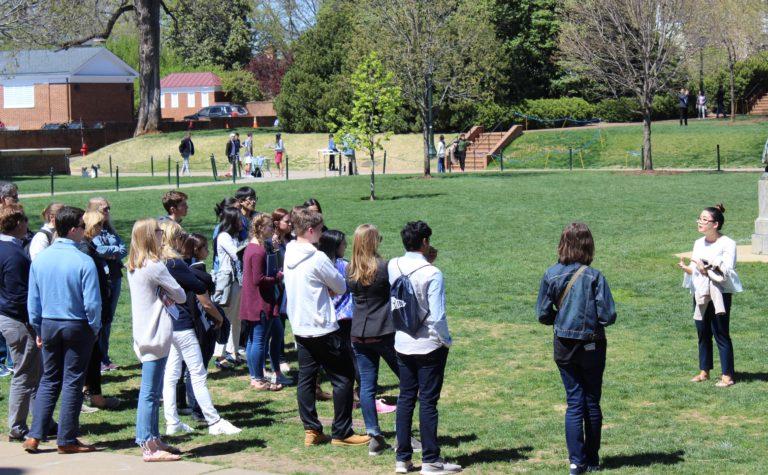 University Of Virginia Admissions >> Admissions Tours University Of Virginia